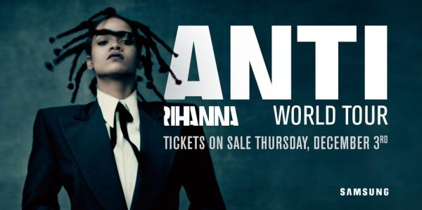 New post on Getmybuzzup- Rihanna Announces 'ANTI' World Tour With Travi$ Scott In The States And The Weeknd & Big Sean In Europe- http://getmybuzzup.com/?p=558716- #BigSean, #Europe, #Rihanna, #TheWeeknd, #TraviScott, #WorldTourPlease Share