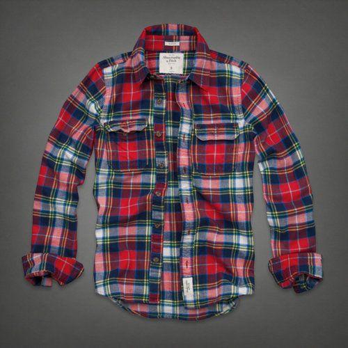 Plaid Flannel Shirts Mens