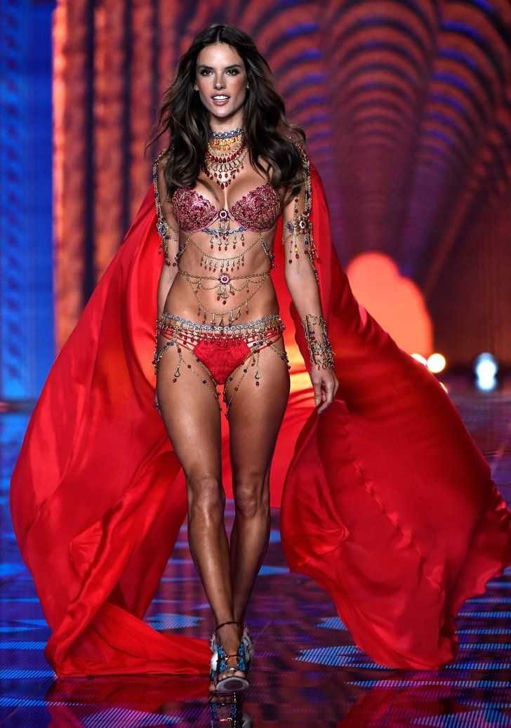 Pin for Later: See Every Jaw-Dropping Look From the Victoria's Secret Fashion Show Victoria's Secret Fashion Show 2014 Alessandra Ambrosio