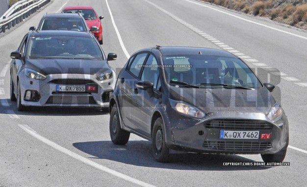 2017 Ford Fiesta RS (spy photo)