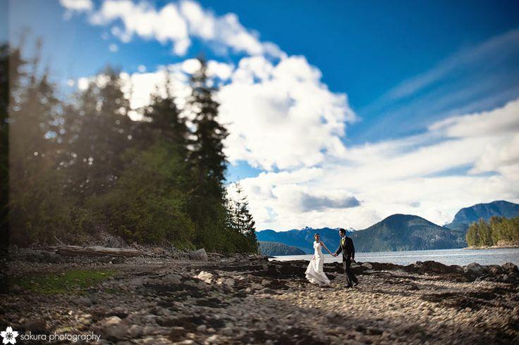 egmont westcoast wilderness lodge wedding