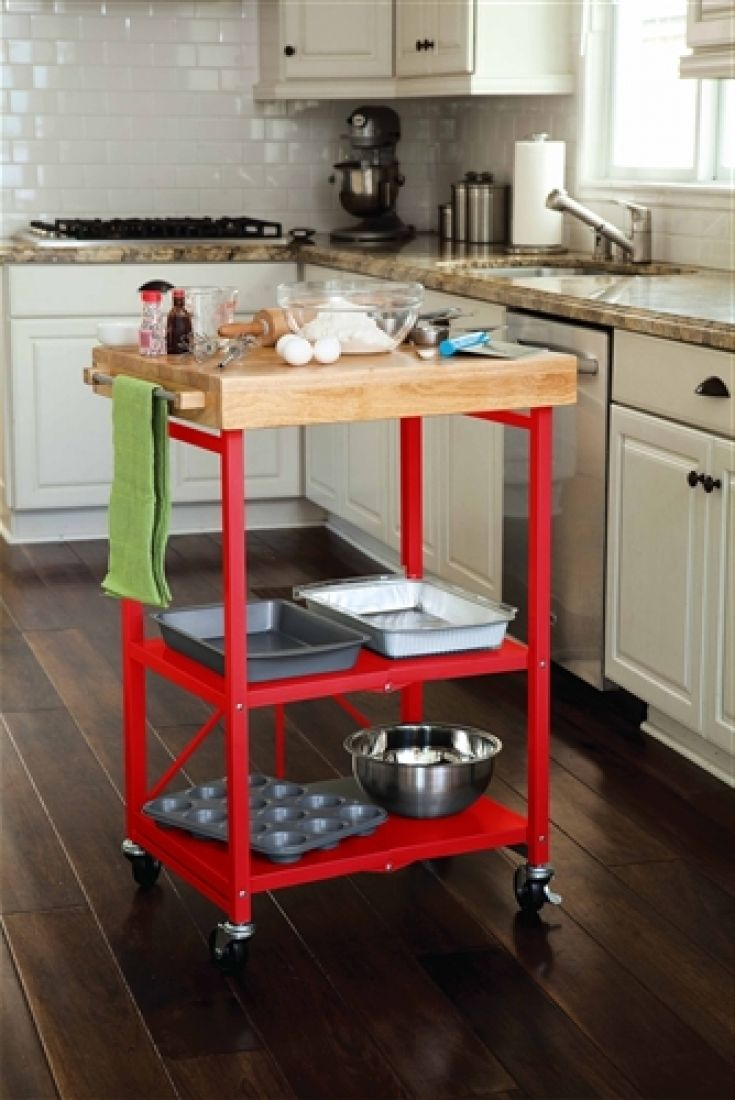 Beautiful Red Kitchen Cart Island Kitchen Island Cart Red Kitchen Cart Red Kitchen