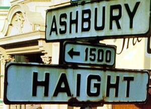 in the haight.