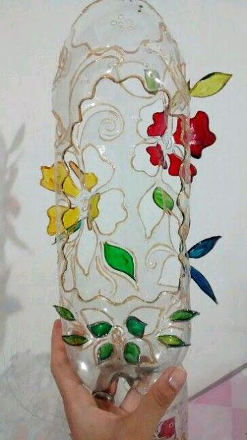 más y más manualidades: Adorables ideas con botellas de plástico