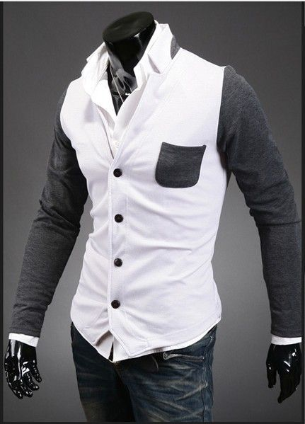 Free shipping 2013 jumper  mens sweater slim fit  knit sweater hip hop cardigan casual dress/korean men shirts US $19.49