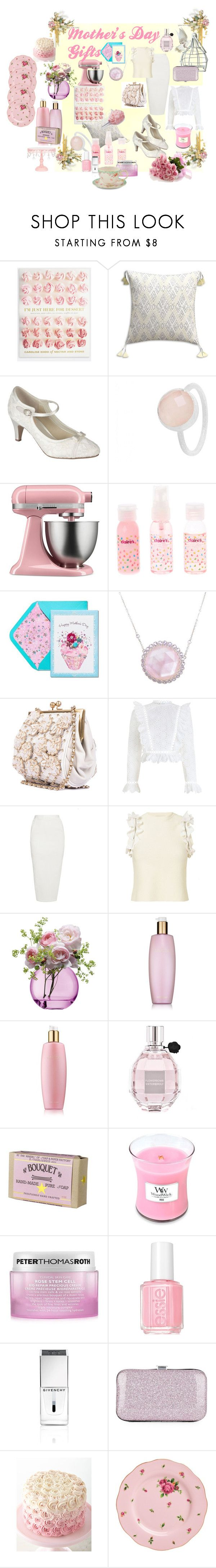 Gifts Every Mother Would Love by michelle-woodworth-webb on Polyvore featuring Zimmermann, 3.1 Phillip Lim, Rick Owens, Pink Paradox London, Laura Munder, Pomegranate, Viktor & Rolf, Peter Thomas Roth, Estée Lauder and Soap & Paper Factory