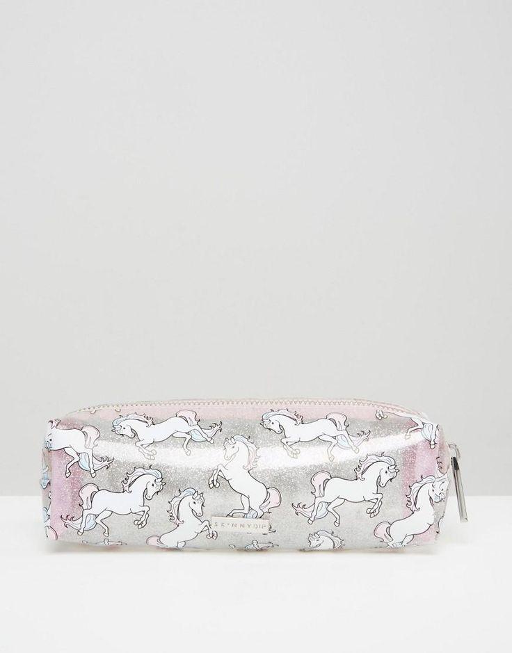 Skinnydip | Skinnydip Unicorn Pencil Case at ASOS