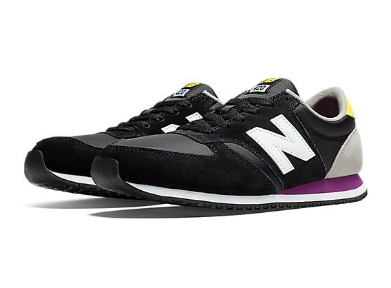new balance 420 black yellow
