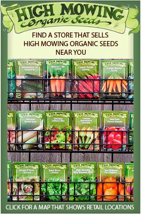 Find a retailer near you that carries High Mowing Organic Seeds!