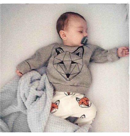 Pas cher Détail 2015 automne style infantile vêtements bébé ensembles de vêtements garçon coton à manches longues bébé vêtements, Acheter  Tenues de qualité directement des fournisseurs de Chine:    Taille 80 90 100