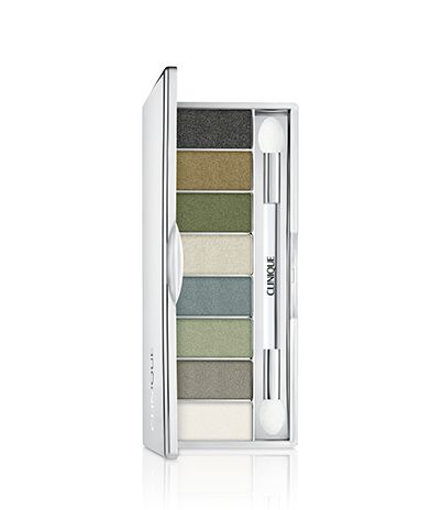 NEW Wear Everywhere Eye Shadow Octet : NEW Wear Everywhere Eye Shadow Octet Versatile eye shadow palettes are perfect for day… amped up for night when you layer multiple shades for extra depth and dimension. Long-wearing shades are crease- and fade-resistant. Ophthalmologist tested, too. Selected shade: Rainforest Green