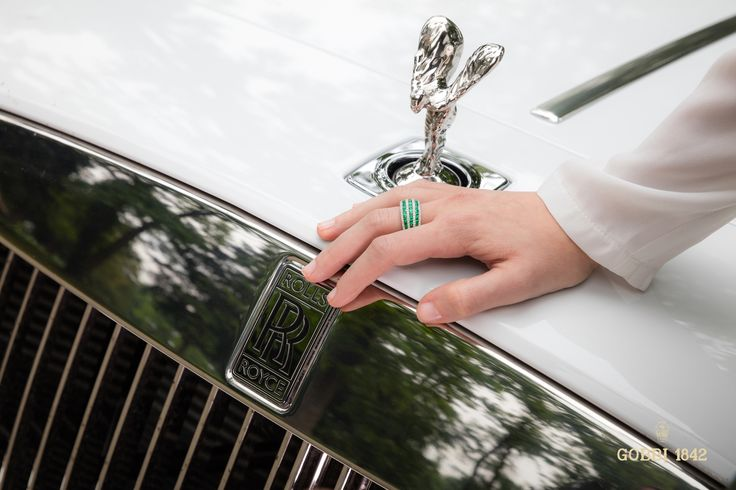 Rolls Royce Ambassador 2016 /// Founded 170 years ago, GOBBI 1842 is an official retail store for refined jewelleries and luxury watches such as Rolex in Milan. Check the website : http://www.gobbi1842.it/?lang=en