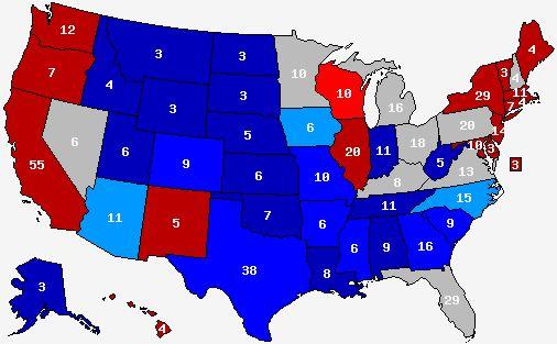 2016 Presidential Polls Map