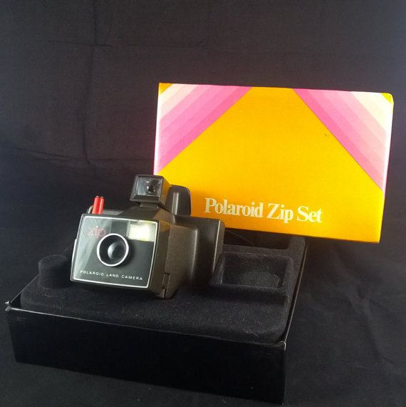 Polaroid Land Camera Polaroid zip set instant by SmalandVintage