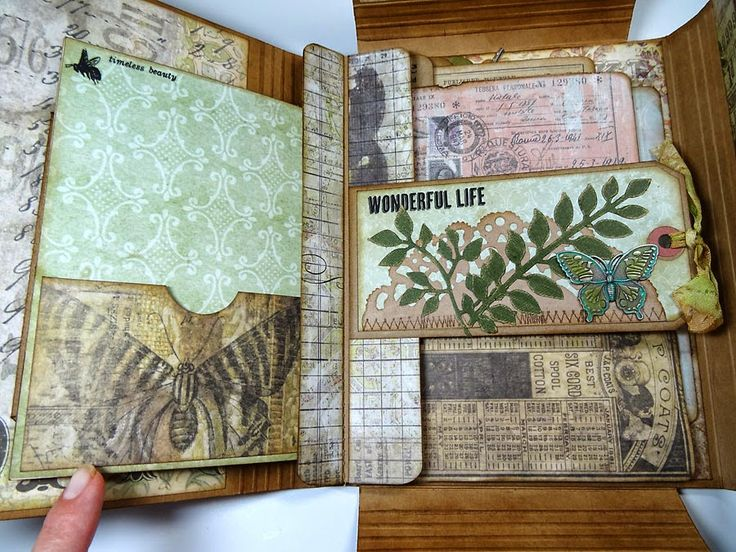 Annette's Creative Journey: Botanical-Themed Collection Folio