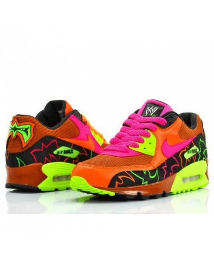 sports shoes 1ac2a aa994 Nike Air Max 90 Candy Warrior Customs Shoes | Air Max in 2019 | Nike ...