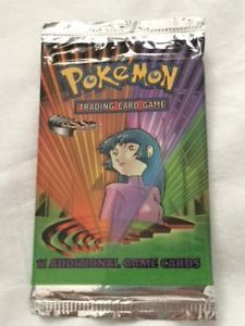 a pokemon tcg gym challenge sabrina booster pack factory sealed