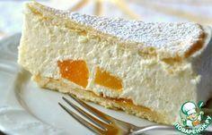 """Творожный торт """"Снежный"""" - кулинарный рецепт"""