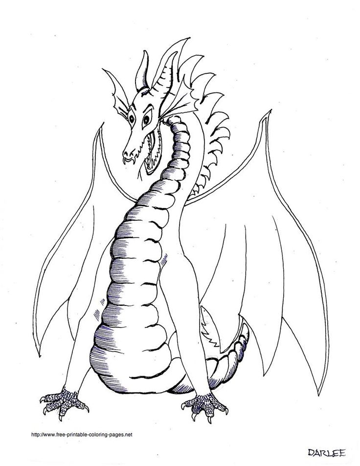 Printable coloring pages dragon printable coloring pages free dragon coloring sheets