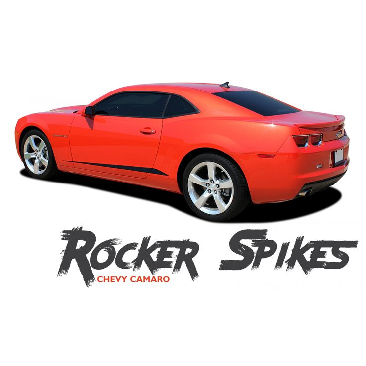 27 best chevy camaro 2010 2011 2012 2013 2014 2015 vinyl graphics chevy camaro rocker spikes lower rocker door panel vinyl graphic accent stripes kit for 2010 2011 publicscrutiny Gallery