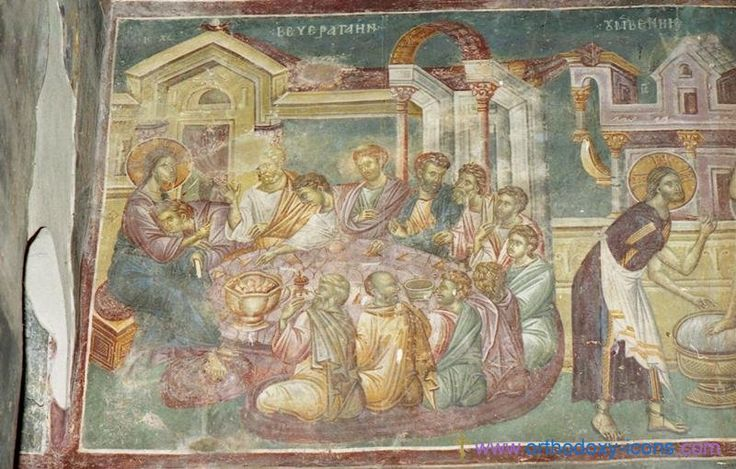Frescoes of the Church of St. Nikita. Serbia (1320). Part V