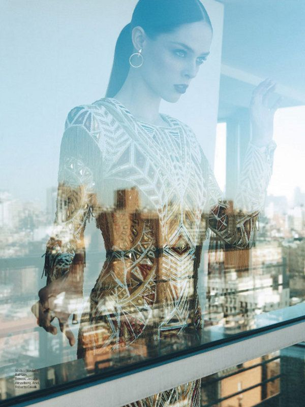 Elle Brazil - Model: Coco Rocha - Photographer: Max Abadian - Stylist: William Graper