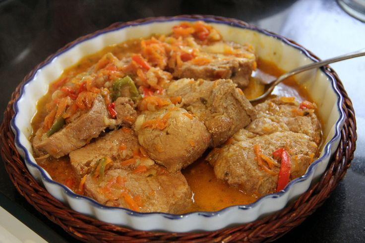 マリのアルゼンチン料理教室:ボンディオラの煮込み - CHOCO★BLOGG