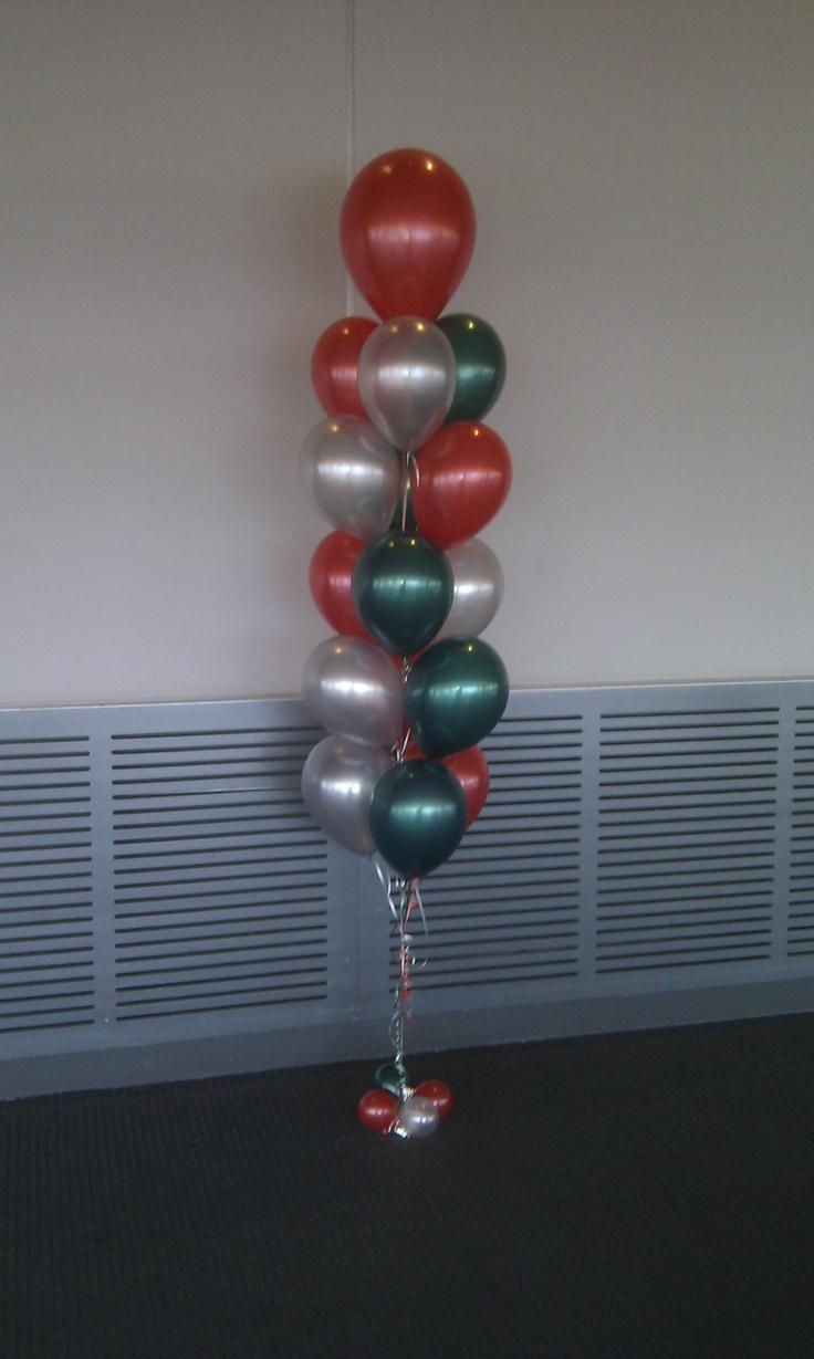 75 best images about helium balloon floor arrangements on for Helium balloon centerpieces