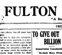 Fulton Postcards Historic Newspapers Update - Over 100 Added New York Titles
