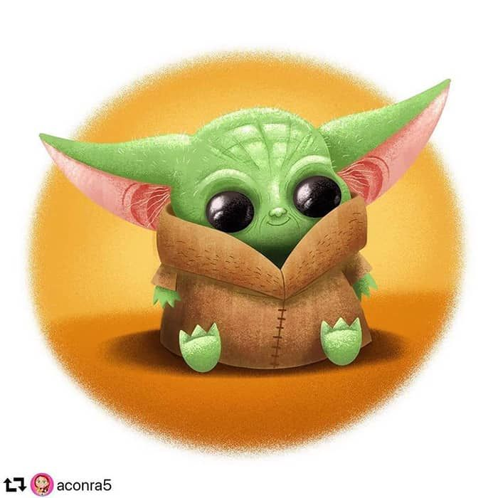 Baby Yoda Fan Art More Than Thursdays Fan Art Comic Style Art Yoda