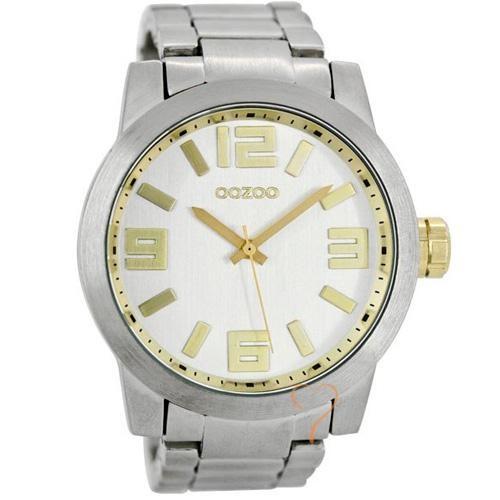 Ρολόι Oozoo Timepieces 50mm White Dial