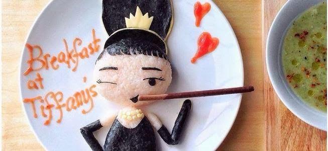 Audrey Hepburn - Art Foods