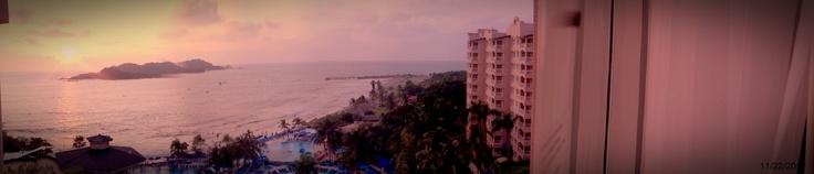 Mi vista del hotel Azul Ixtapa