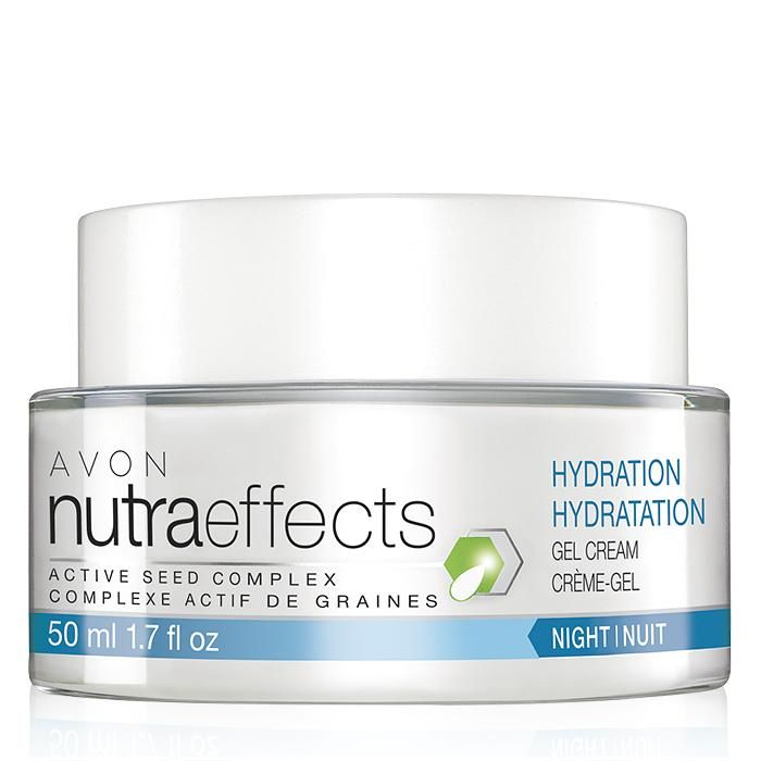 Introducing the NutraEffects product line. The Hydration Collection is formulated to help boost skin's barrier function to help protect from dehydrating effects of external elements like wind, cold and dry air. Our formulas help keep skin looking and feeling moisturized, nourished and hydrated, which is essential to keeping skin looking healthy. Night cream shop online at www.youravon.com/my1724 or by clicking on the pin..