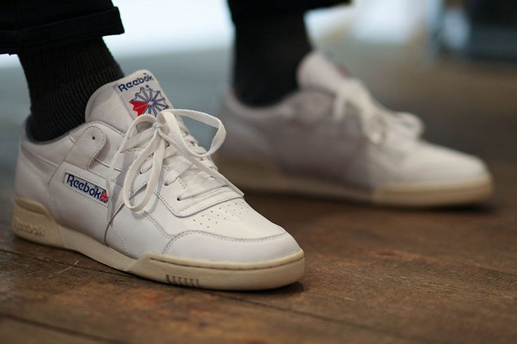 90s old school classics.Reebok Workout Plus White  Trainers