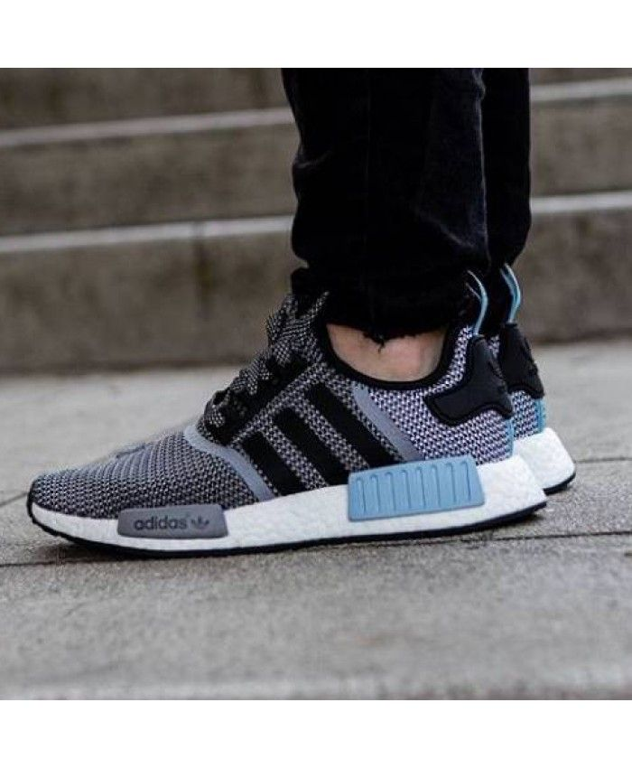 huge selection of f52f3 80a82 Adidas NMD Runner Knit Clear Blue Trainers | RUNNER | Adidas ...