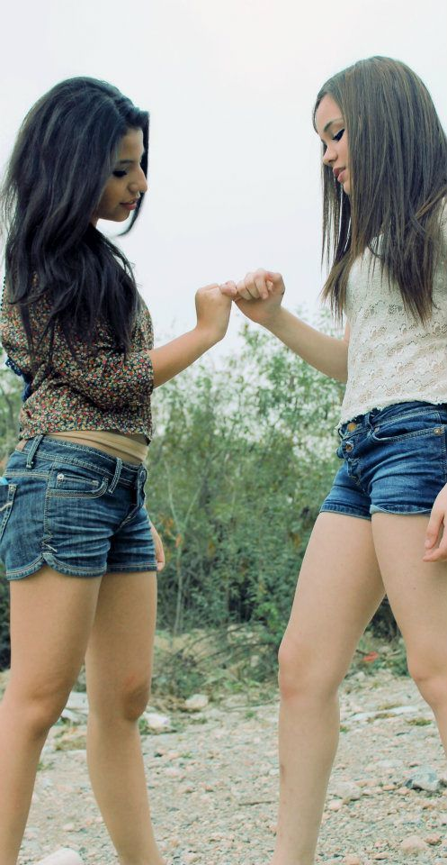best friends, girls , hair, pinky promise, promise - inspiring picture ...