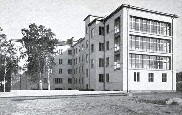 Viipuri Hospital Building Vyborg, Russia Uno Ullberg, 1930