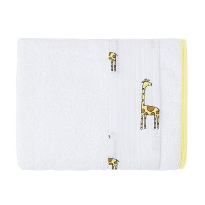 Keep the fun going outside the tub with an Aden + Anais toddler towel. The soft terry and muslin keeps little ones warm and dry, while the large size makes it just right for your growing toddler. It's the perfect way to get your kids to want to take a bath. Includes: * One pre-washed 127cm x 76cm terry towel Features: * Gentle: made with absorbent terry and a cotton muslin edge * Generous size: rectangular shape is the perfect size for any growing child * Practical: machine washable…
