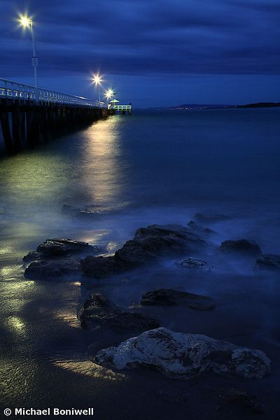 After Dark  Point Lonsdale Pier, Victoria, Australia