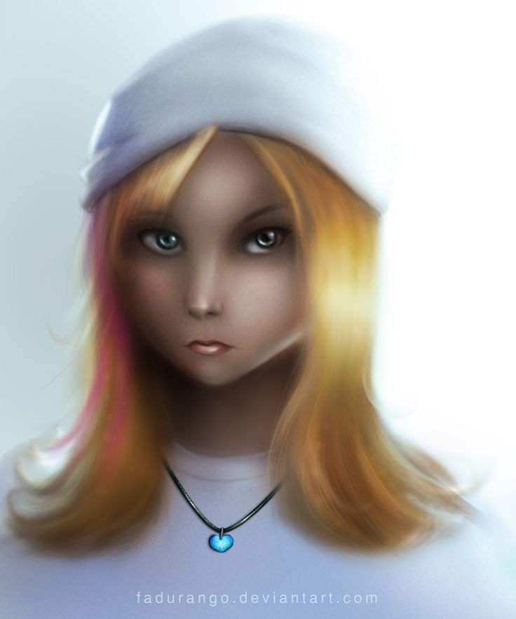 Cute Girl by fadurango.deviantart.com on @deviantART