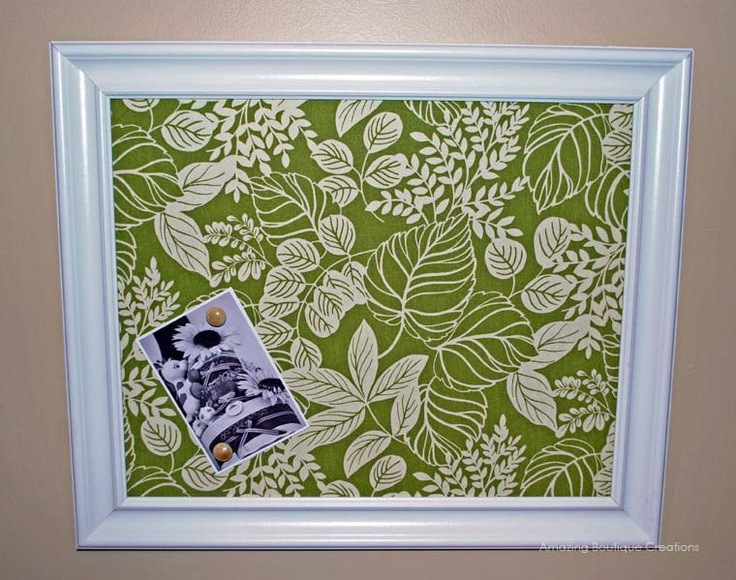 XL Magnetic Kitchen Bulletin Board.  Put glass on the front and it is a dry erase board.