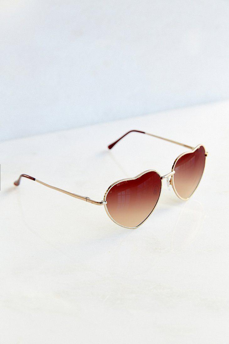 UO Heartbreaker Sunglasses - Urban Outfitters