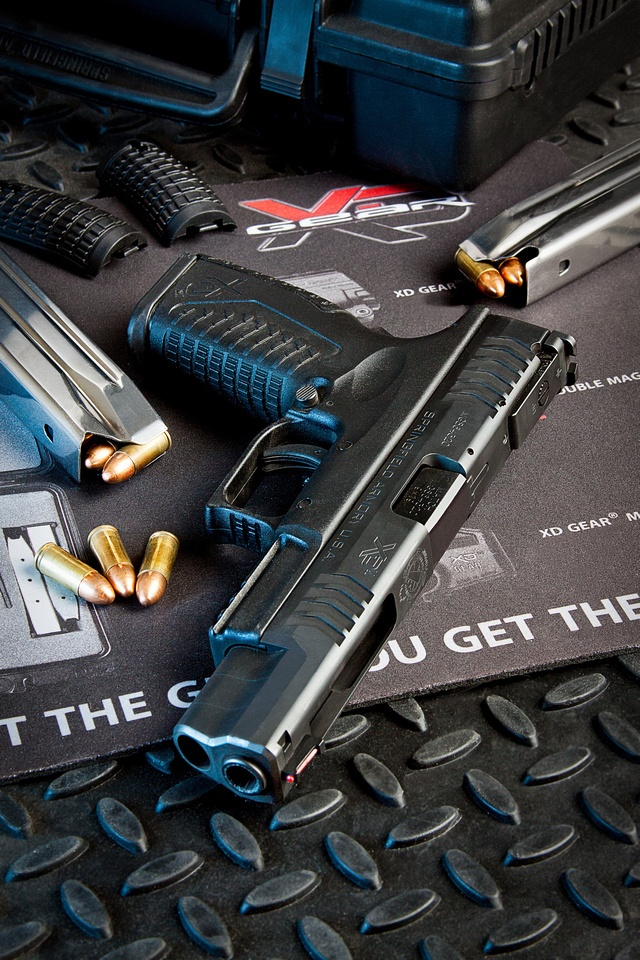 """Springfield Armory XDm 9mm 5.25"""" this is my gun! The gun that I will have soon and made for me :)"""