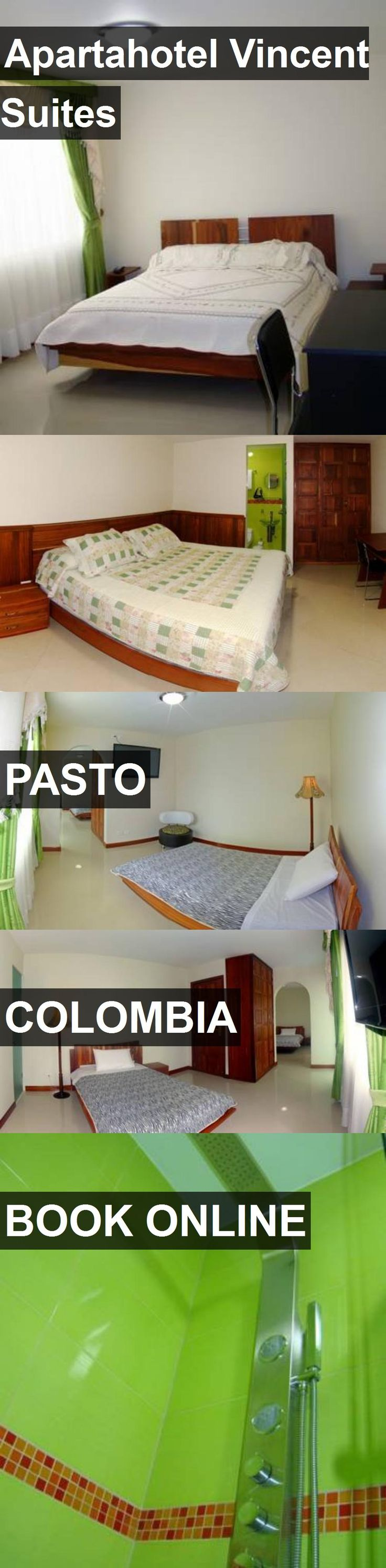 Apartahotel Vincent Suites in Pasto, Colombia. For more information, photos, reviews and best prices please follow the link. #Colombia #Pasto #travel #vacation #hotel