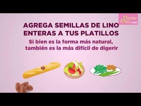 3 Remedios con linaza para perder peso - aPerderPeso.com