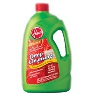 """http://procarpetsupply.com/hoover-steam-vac-carpetupholstery-detergent-64-ounce/ """"BISSELL"""" CARPET/UPHOLSTERY DETERGENT  Deep cleansing carpet and upholstery detergent.  FiberShield - antistain technology.  Specially formulated for Hoover Steam Vac.  Can be used in model  48 OZ"""