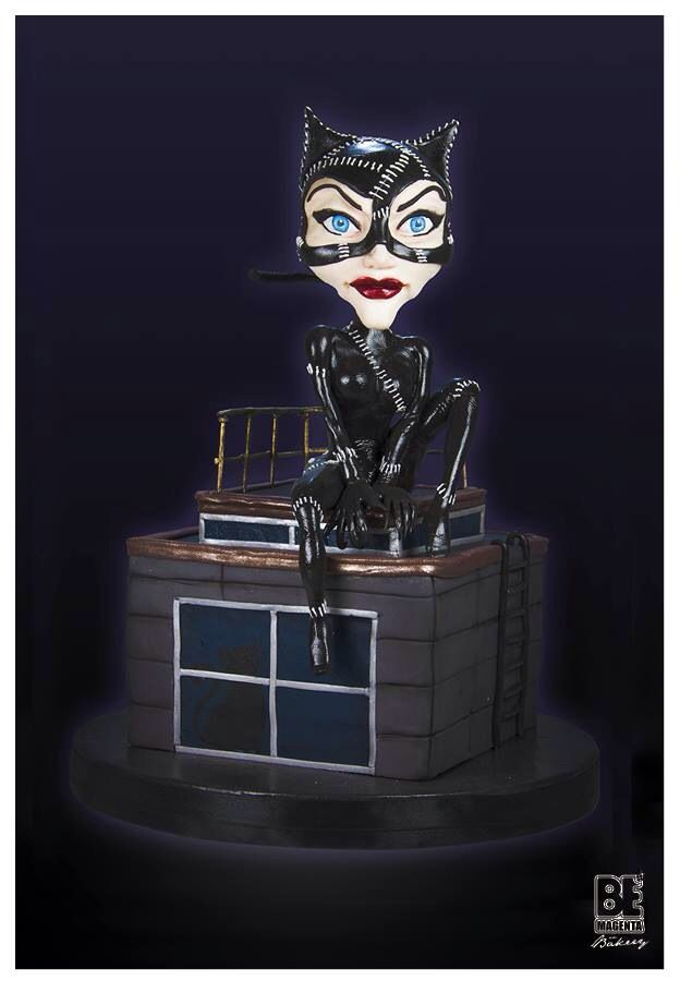 Catwoman 's cake