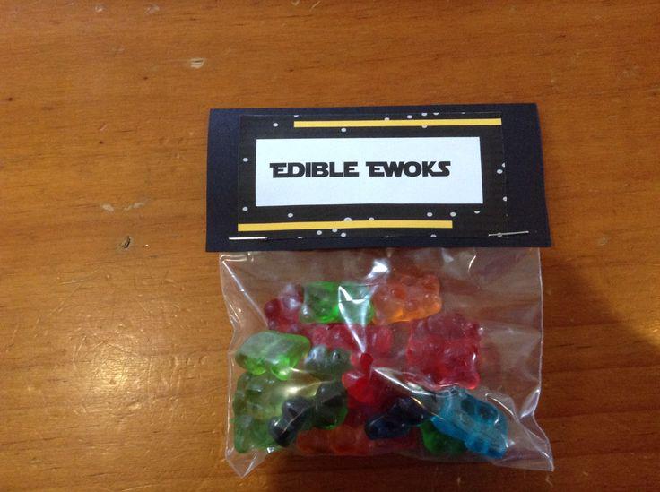 Edible Ewoks - Gummy Bears