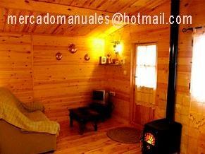 Fotos de  Aprende a construir cabañas o casas de madera adobe o fardos de paja